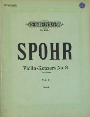 Шпор - Концерт за цигулка Nr.8 ла минор оp.47