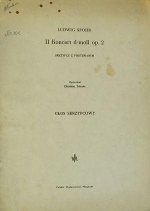 Шпор - Концерт за цигулка Nr.2 оp.2 ре минор
