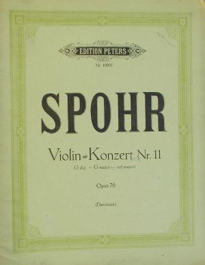 Шпор-Концерт за цигулка Nr.11 сол мажор op.70