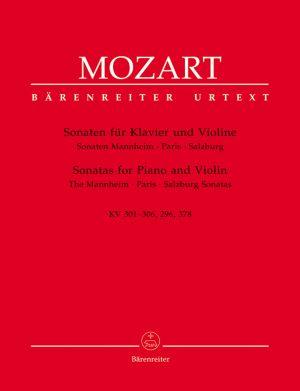 Моцарт - Сонати за пиано и  цигулка KV  301,306,296,378