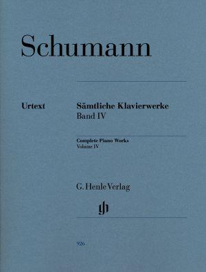 Шуман - Произведения за пиано Банд IV