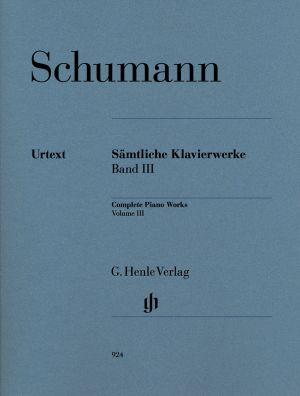 Шуман - Произведения за пиано Банд III