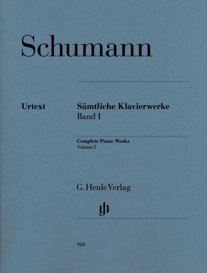 Шуман - Произведения за пиано Банд I