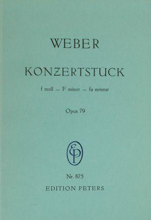 Вебер - Концертна пиеса фа минор оп.79