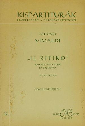 Вивалди-Концерт за цигулка IL ritiro