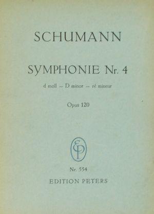 Шуман-Симфония №4 ре минор оп.120