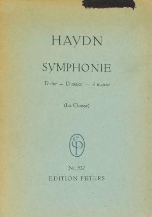 Хайдн - Симфония №73(Ловът) D-dur