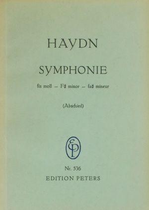 Хайдн Симфония №45 (Прощална) фа диез минор