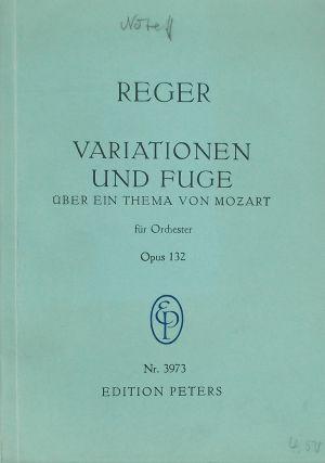 Регер-Вариации и фуга по тема на Моцарт оп.132