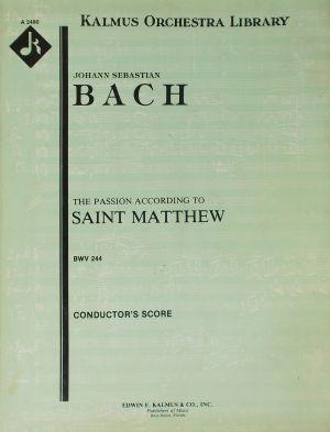 Бах - Пасион BWV 244