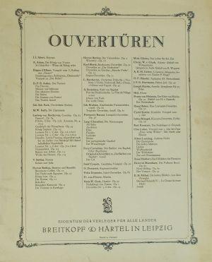 Бетховен - Леонора увертюра  №1