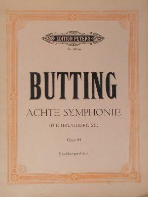 Бутинг - Осма симфония оп.84