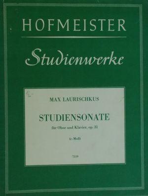 Laurischkus-Соната за обой  и пиано оп.31 до минор