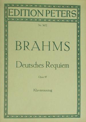 Брамс - Немски реквием оп.45 клавир