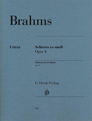 Брамс - Скерцо за пиано оп.4 ми бемол минор