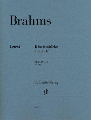 Брамс - Пиеси за пиано оп.118