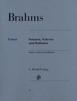 Брамс - Сонати,Скерцо и Балади