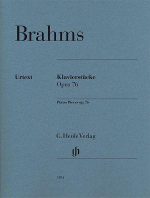 Брамс - Пиеси за пиано оп.76