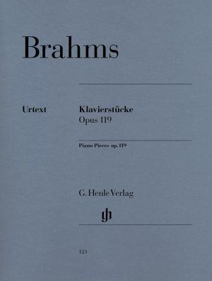 Брамс - Пиеси за пиано оп.119