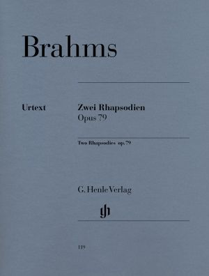 Брамс - Две Рапсодии оп.79