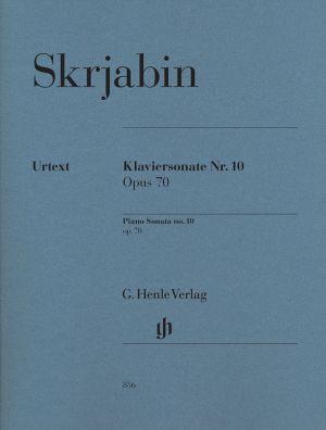 Скрябин - Соната за пиано №10 оп.70
