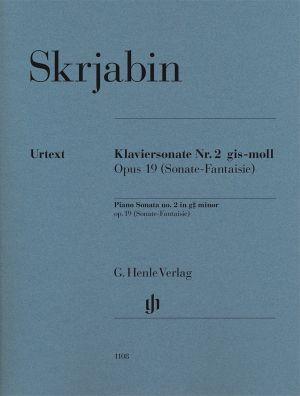 Скрябин - Соната за пиано(Фантазия) №2 сол диез минор оп.19