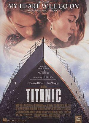 My heart will go on(от Титаник) за пиано и глас