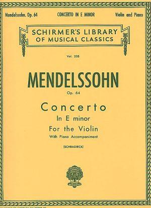 Менделсон - Концерт за цигулка  оп.64, ми минор