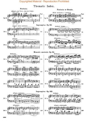 Шуберт - Фантазии,Импромтюта,Музикални моменти