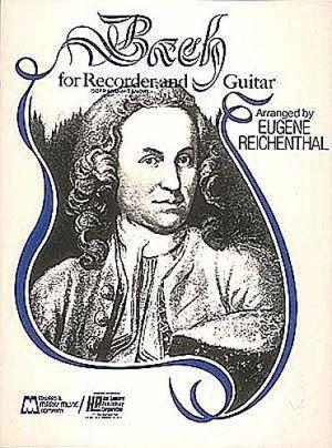 Бах за блокфлейта(сопранова или тенорова) и китара