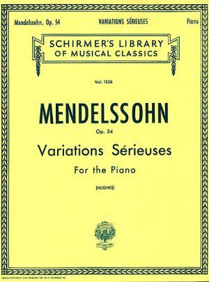 Менделсон - Сериозни  Вариации оп.54