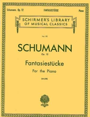Шуман - Фантастични пиеси оп.12 за пиано