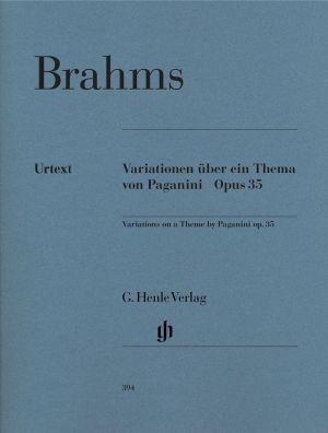 Брамс - Вариации върху Паганини оп.35