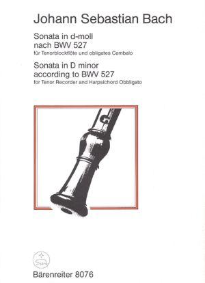 Бах - Соната в ре минор  BWV 527 за тенорова блокфлейта
