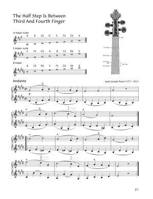 Начална школа по цигулка тетрадка 3