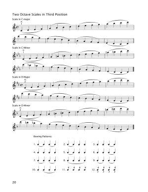Начална школа по цигулка тетрадка 4