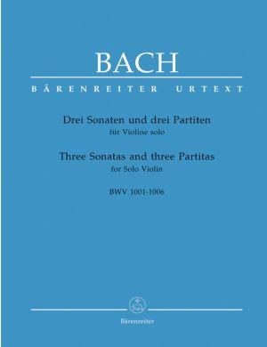 Бах Три Сонати и партити  BWV 1001-1006 за цигулка