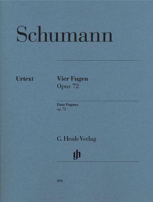 Шуман - Четири Фуги оп.72
