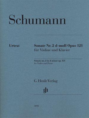 Шуман - Соната за цигулка №2 в ре минор оп.121