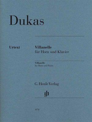 Дукас - Villanelle за валдхорна и пиано