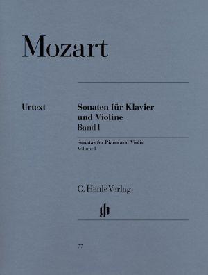 Моцарт - Сонати за цигулка и пиано 1 том