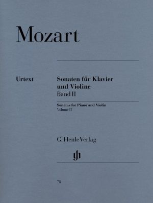 Моцарт - Сонати за цигулка и пиано 2 том