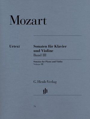 Моцарт - Сонати за цигулка и пиано 3 том