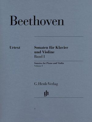 Бетховен - Сонати за цигулка и пиано 1 том