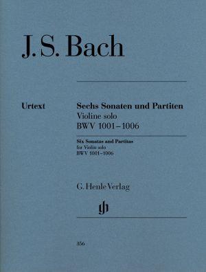 Бах - Шест Сонати и Партити за соло цигулка BWV1001-1006