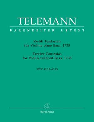 Телеман - 12 Фантазии за цигулка без бас