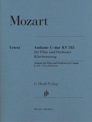 Моцарт - Анданте в до мажор KV 315 за флейта и пиано