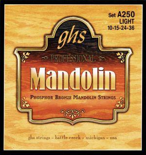 GHS струни за мандолина ph.bronze- размер 0.10 - 0.36