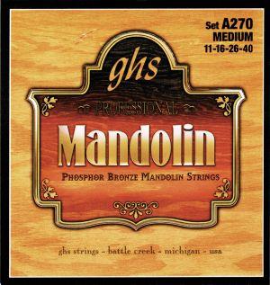 GHS струни за мандолина ph.bronze- размер 0.11 - 0.40