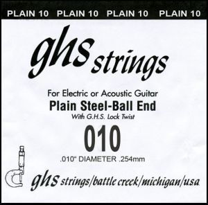 GHS 1ва стр. за ел./акустична китара -010